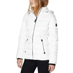 Nautica Water Resistance Hoodie Puffer Jacket